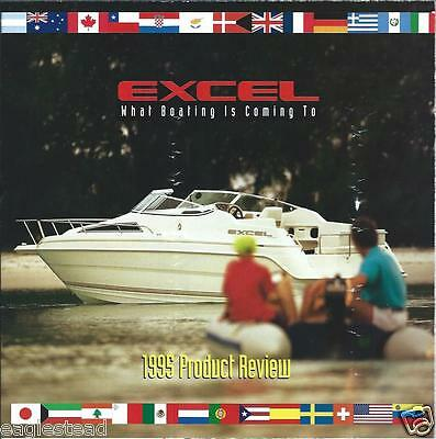 Boat Brochure - Excel - Product Line Overview - 1995  (SH08)