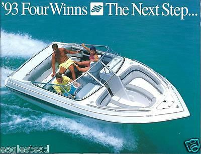 Boat Brochure - Four Winns - Product Line Overview - 1993  (SH09)