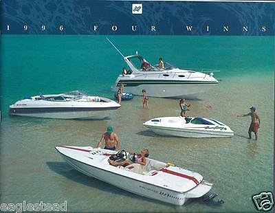 Boat Brochure - Four Winns - Product Line Overview - 1996  (SH12)