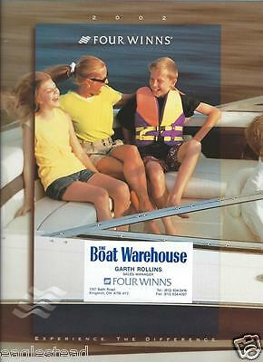 Boat Brochure - Four Winns - Product Line Overview - 2002  (SH13)