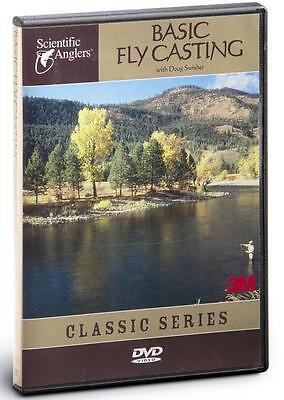 New $20 Basic Fly Casting Beginners Instructional Fishing Dvd Scientific Anglers