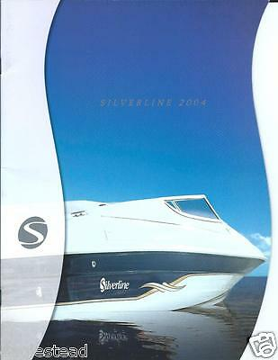 Boat Brochure - Silverline - Product Line Overview - 2004 (SH23)