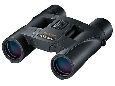 **NEW Nikon Aculon A30 Binoculars 10x25 Black 8263