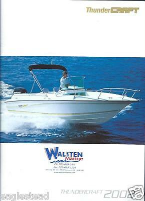 Boat Brochure - Thundercraft - Product Line Overview - 2002  (SH28)