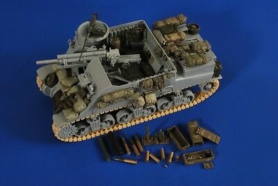 VERLINDEN PRODUCTIONS #2633 Stowage & Ammo for Dargon® Kit M7 Priest in 1:35