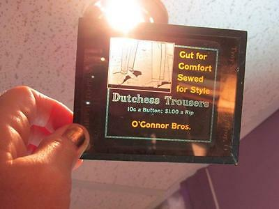 Dutchess Trousers Cut for Comfort OConnor Bros Antique Glass Magic Lantern Slide