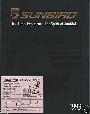 Boat Brochure - Sunbird - Product Line Overview - 1993  (SH32)