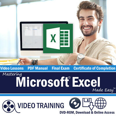 Learn Microsoft EXCEL 2016 & 2013 Training Tutorial Course 10 Hours 199 Lessons