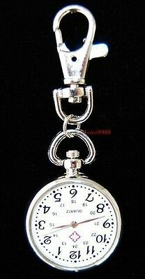 Wholesale New 10 pcs Fashion Lovely Nurse Style Key Ring Pocket watches HW27