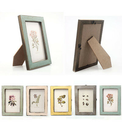 Warm Family Vintage Wooden Photo Frame Fashion Home Decoration Pictures Frames