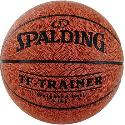 "Spalding 29.5"" Trainer Weighted Basketball 3lbs Improve wrist & finger strength"