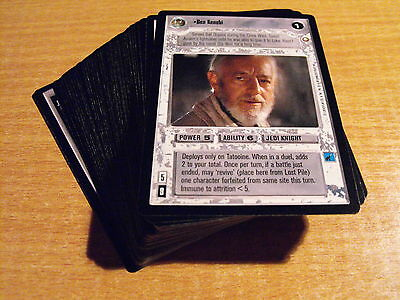 Star Wars Ccg Special Edition, Complete Set Of 60 Light Side Rares