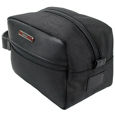 Alpine Swiss Hudson Shaving Kit Dopp Kit Overnight Toiletry Bag Travel Case New