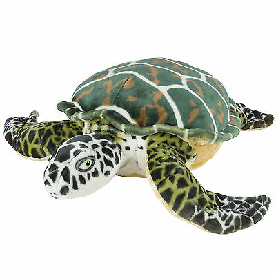 Large Sea Turtle Plush Animal Realistic Tortoise Soft Stuffed Toy