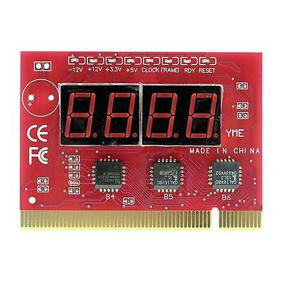 1x Durable Computer Motherboard LED 4 Digit Analysis Diagnostic POST Card Gadget