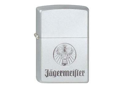 "ZIPPO ""JäGERMEISTER"" EMBLEM CHROME LIGHTER / 60001343 ** NEW IN BOX **"