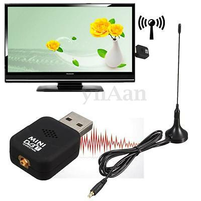 Nuovo USB 2.0 Dongle Digital DVB-T TV Freeview Tuner Ricevitore Per PC Laptop