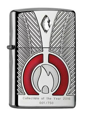 """ZIPPO LIMITED ARMOR CASE """"COLLECTIBLE OF THE YEAR 2016"""" LIGHTER * NEW in BOX *"""