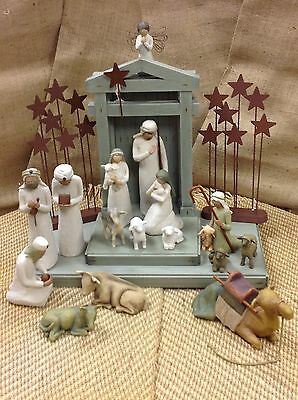 Demdaco Willow Tree Nativity Collection 19 Piece Set