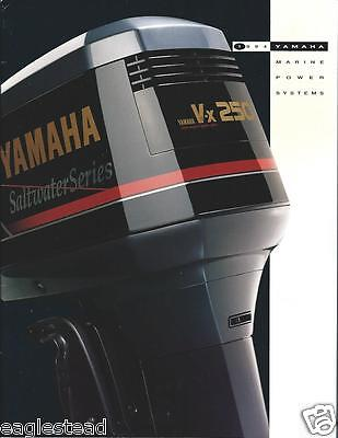 Boat Motor Brochure - Yamaha - Product Line Overview - Outboards - 1994 (SH79)