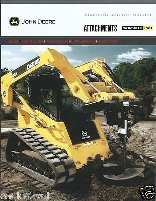 Equipment Brochure - John Deere - Attachments Worksite Pro - 2 items (E2643)