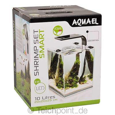 Aquael Aquarium Shrimp Set 10 SMART LED, schwarz Nano komplett Set *NEU*