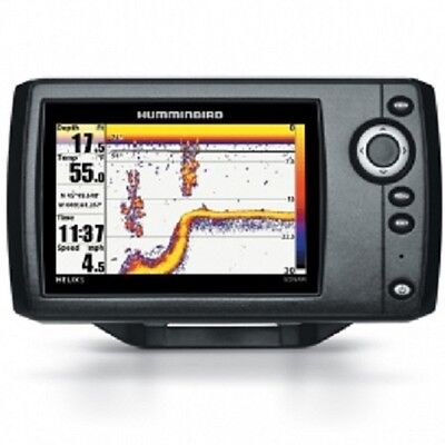 "Humminbird Helix 5 Sonar Fish Finder. 5"" Screen, Full Colour. Inc Transducer"