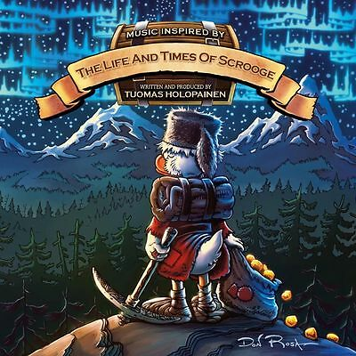 Tuomas Holopainen - The Life And Times Of Scrooge - 2Lp Black Vinyl New 2014