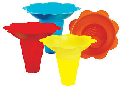 Flower Sno-cone drip tray cups (12 Ounce) 100 total. #6504