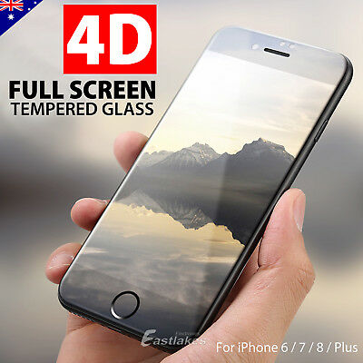 3D Full Cover Tempered Glass Screen Protector For Apple iPhone 7 6s 6 Plus