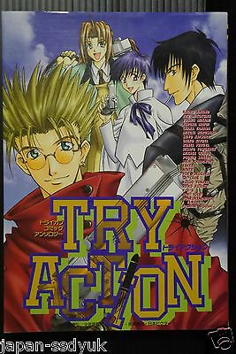 JAPAN Trigun manga: Comic Anthology TRY ACTION