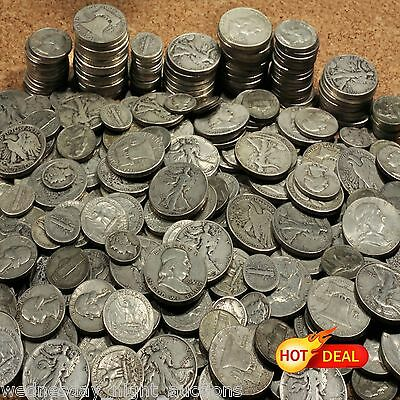 Old Us Silver Coins 1 Troy Ounce Lots 🌟 Holiday Sale 🌟 Must Sell 50% Off Price