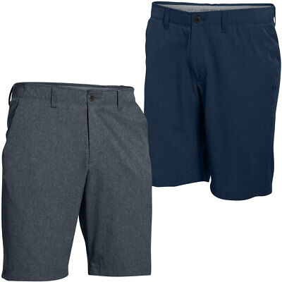 Under Armour 2016 Mens UA Punch Shot Shorts Solid Golf Tech Flat Front
