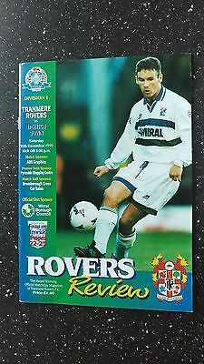 Tranmere Rovers V Ipswich Town 1995-96