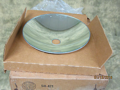 """Strong Cine-Lite Glass Carbon Arc Lamp house Reflector 11 3/4"""" Looks New"""