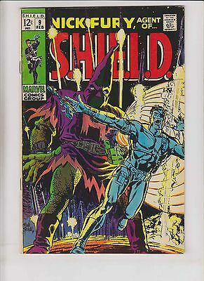 Nick Fury, Agent of S.H.I.E.L.D. #9 FN+ february 1969 - hate-monger - silver age