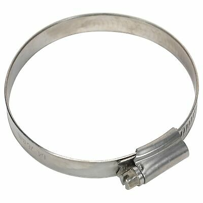 Sealey Race / Rally Pack Of 10 Stainless Steel Hose Clips - 64-76mm