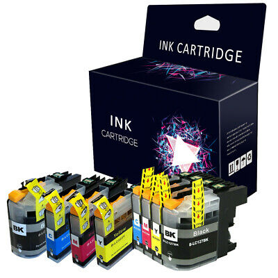 Multipack CHIPPED Ink Cartridge For Brother LC123 LC125 LC223