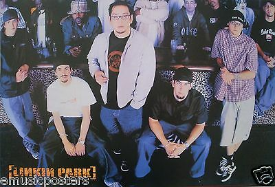 """LINKIN PARK """"REANIMATION GROUP SHOT"""" POSTER FROM ASIA-Alternative Rock, Nu Metal"""