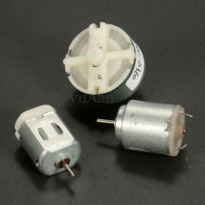 Miniature Small Electric Motor Brushed 0-12V DC for Models Crafts Robots