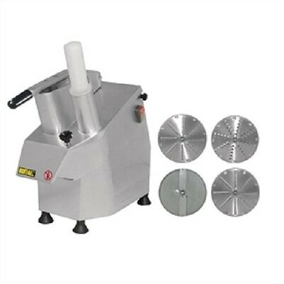 Buffalo Multi Function Continuous Veg Prep Machine and 4 Free Discs - S547