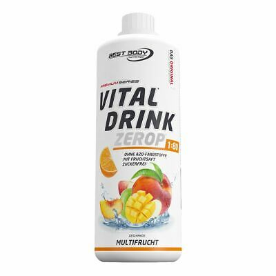 Best Body Low Carb Vital Drink 1000ml Flasche Mineraldrink