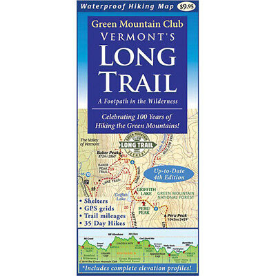 Green Mountain Club Vermont's Long Trail: Map