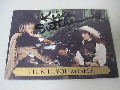 Kiefer Sutherland Autograph Signed The Three Musketeers Trading Card #41