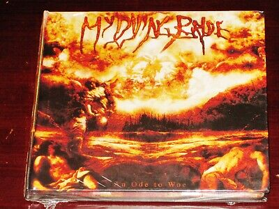 My Dying Bride An Ode To Woe CD DVD Set 2008 Peaceville CDVILEF207X Digibook NEW