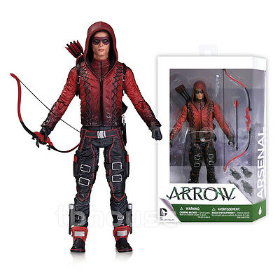 """7"""" ARSENAL figure ARROW cw show ROY HARPER red speedy DC COLLECTIBLES tv series"""