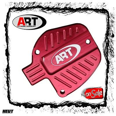 SALE - A.R.T Thumb Throttle Cover Daumengas Cover Aluminium ROT Yamaha YFZ 450