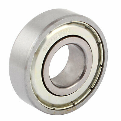 6203ZZ 17mmx40mmx12mm Metal Sealed Dual Shielded Deep Groove Ball Bearing
