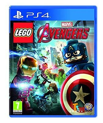 Lego Marvel Avengers (PS4) [New Game]