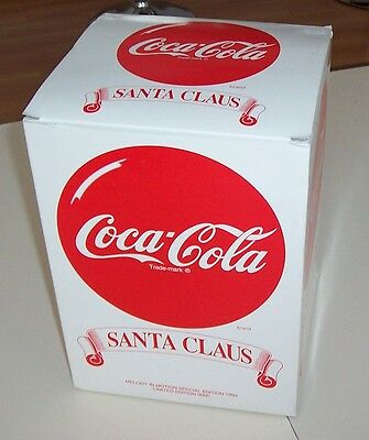1994 Coca Cola Melody In Motion Limited Edition Action Musical Santa With Train